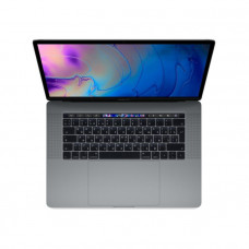 "Apple MacBook Pro 15"" процессор intel Core i7 2,2 ГГц, 16ГБ, 256 ГБ SSD, Radeon Pro 555X, Touch Bar «серый космос»"