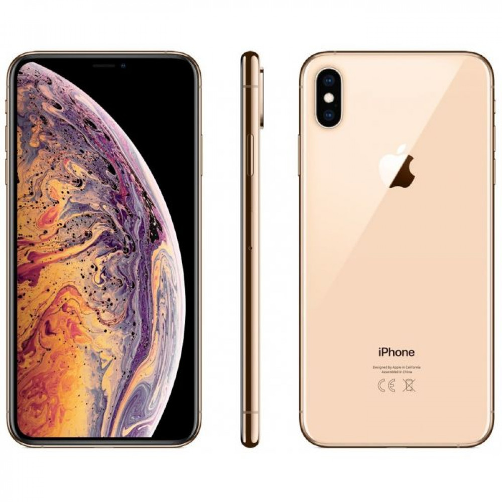Телефон Apple iPhone XS Max 64 ГБ золотой