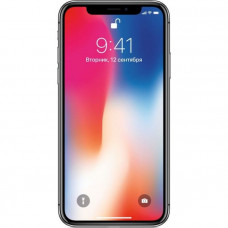 Телефон Apple iPhone X 64 ГБ Серый космос