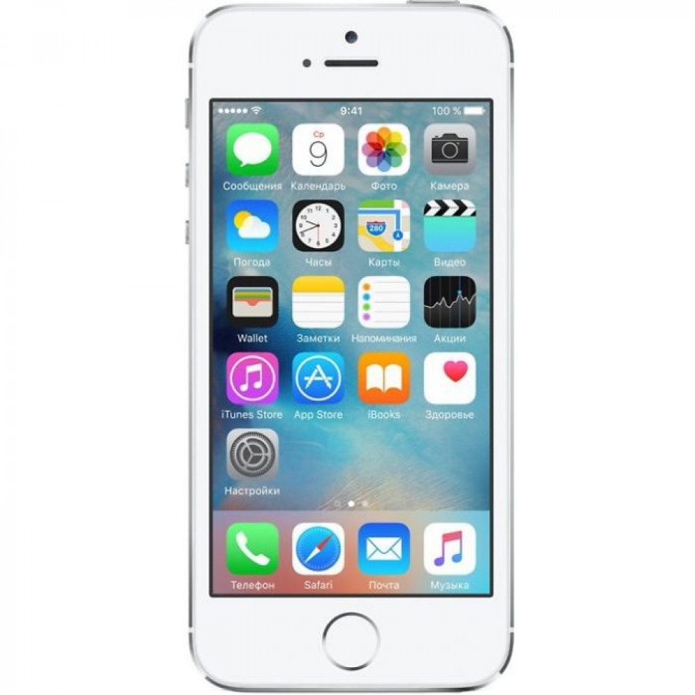 Телефон Apple iPhone 5S 16GB Серебристый